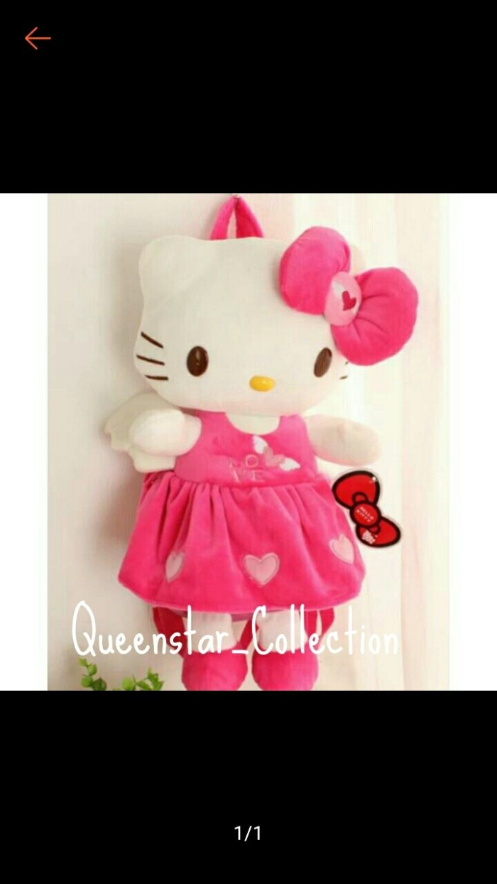 Jual Import Tas Boneka Hello Kitty L Jakarta Barat Queenstar Collection