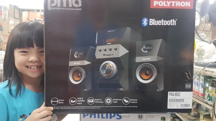 harga Speaker multimedia polytron pma 9502+bluetooth, fm, karaoke Tokopedia.com