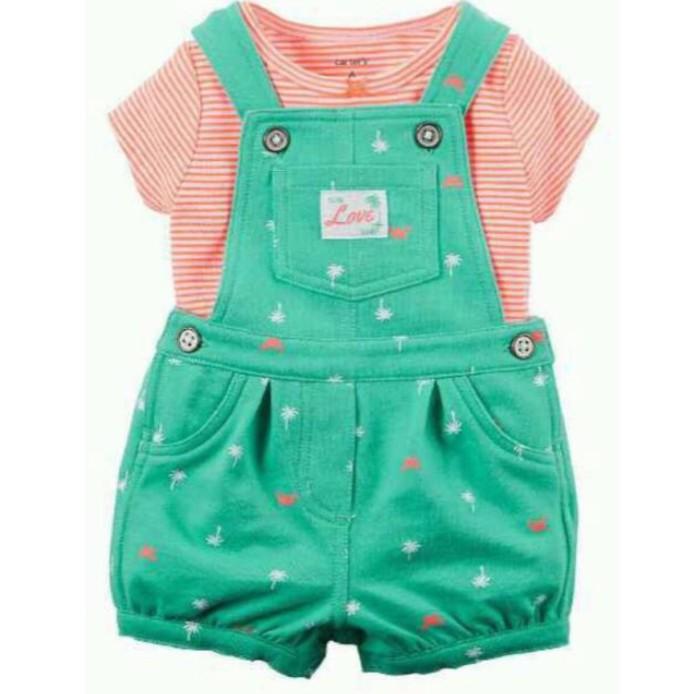 harga Overall carters baby cewe/  setelan baju bayi cewe murah lucu Tokopedia.com