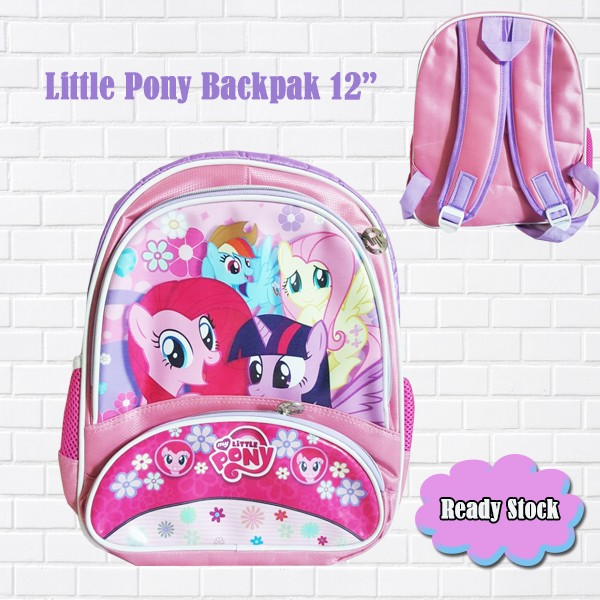 Jual Tas Ransel Anak TK SD Import Little Pony  5f2ae46f8f