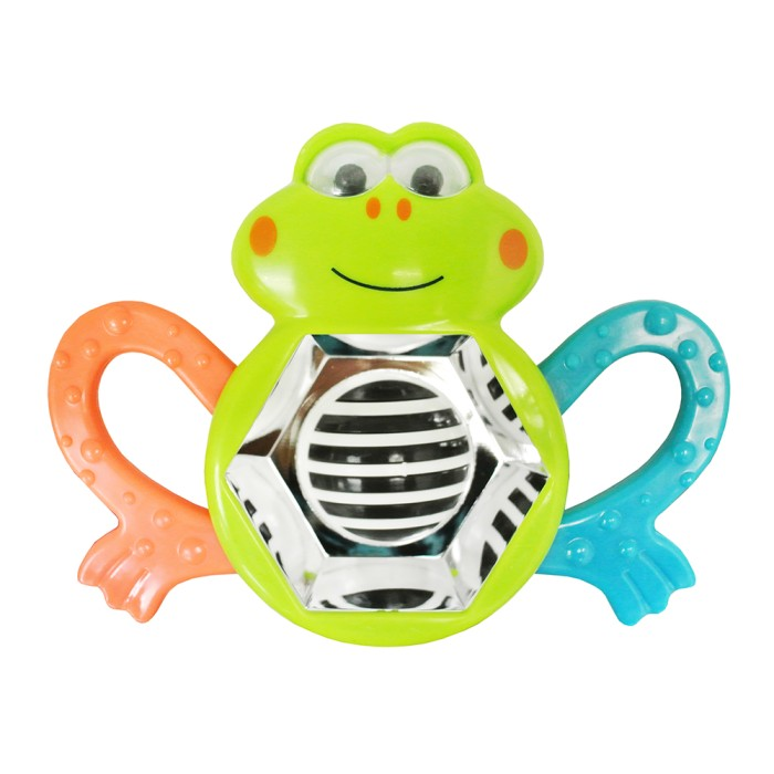 Jual Lucky Baby Whizzy Activity Rattle – Frog – Lb 9620 Harga Promo Terbaru