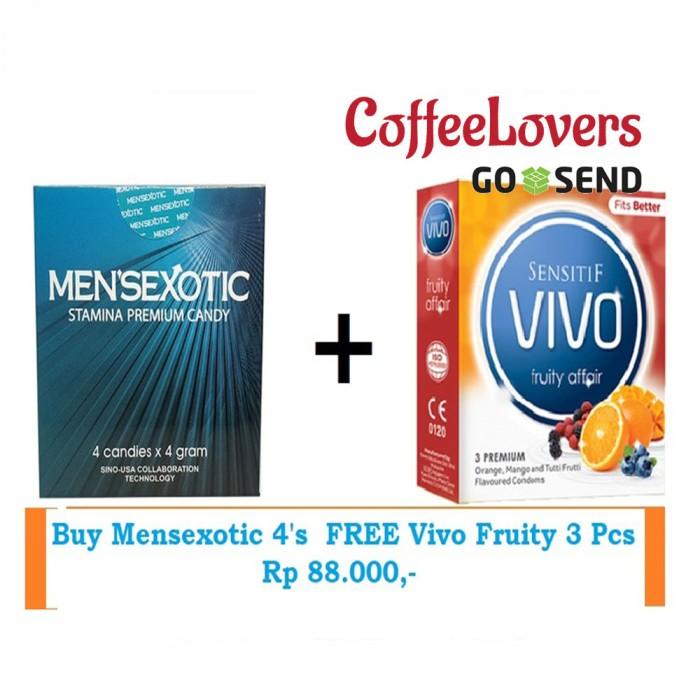 Mensexotic candy new expired 05-2020 isi 4 pcs original 100%