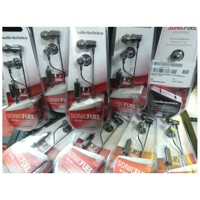 Audio technica sonicfuel in-ear headphones clr100is - hitam