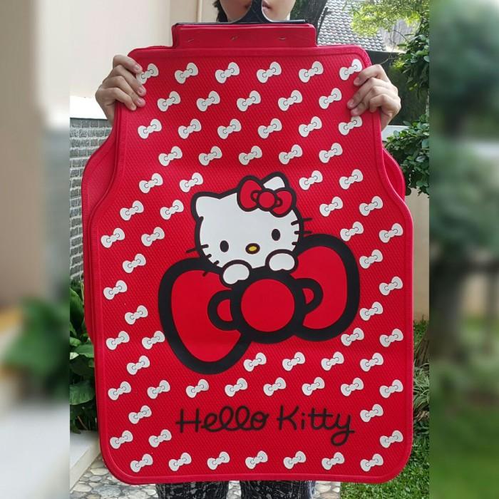 Jual Karpet Mobil Gambar Hello Kitty Cantik Kota Tangerang Selatan Toko Bantal Mobil Tokopedia