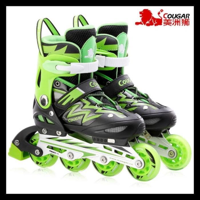 Cougar Sepatu Roda Inline Skate Mzs835l Hitam Silver - Beli Harga Murah a2a45837b7