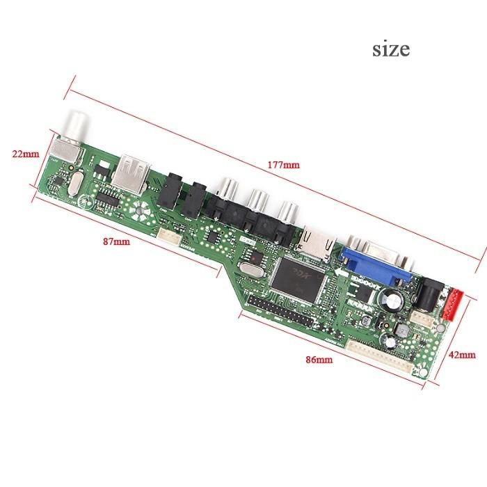 harga Lcd led tv universal main board mesin driver 8501 monitor diy tv usb Tokopedia.com