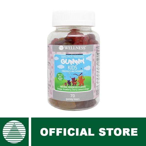 Wellness gummy kids children s multivitamin 70 gummy bears vitamin Source · Jual Wellness Gummy Kids 60 10 Gummies PT Natural Nutrindo OS Tokopedia