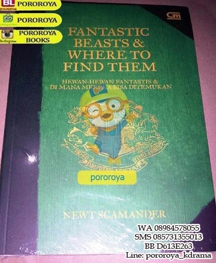 harga Novel harry potter - fantastic beasts and where to find them Tokopedia.com