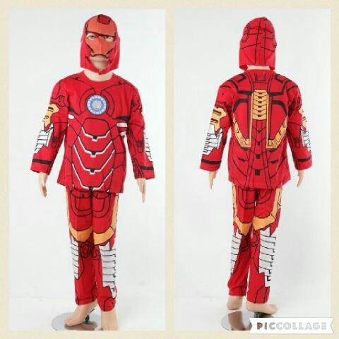 Jual Baju Anak Ironman Baju Kostum 3in1 Baju Anak Laki