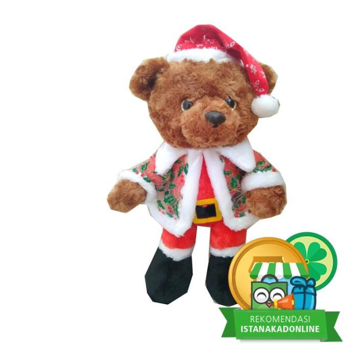 harga Bn3478 boneka teddy bear baji mantel natal 19  christmas iko00879 Tokopedia.com