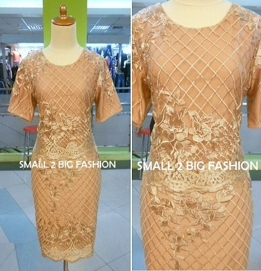harga Dress brukat / dress brokat / dress natal / dress gereja brokat murah Tokopedia.com