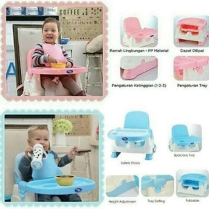 Baby safe baby booster /kursi lipat makan bayi