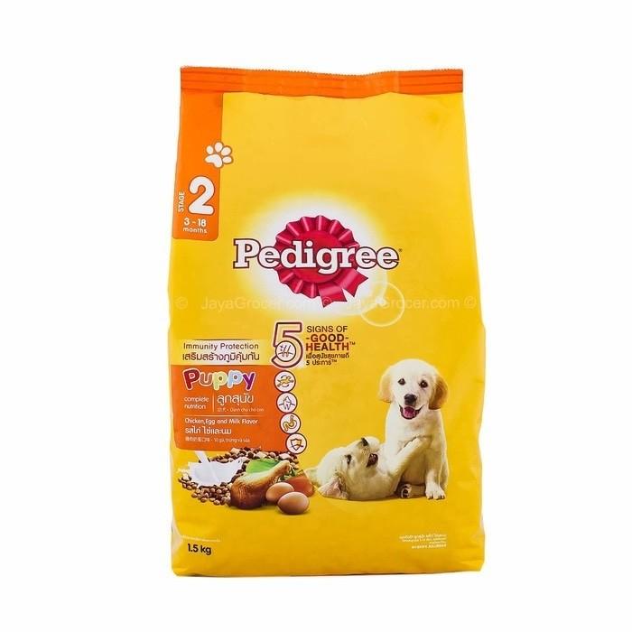 harga Pedigree puppy 1.5kg makanan anjing Tokopedia.com