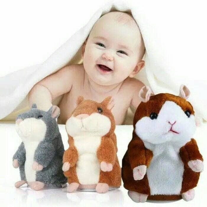harga Promo talking hamster plush toy (boneka bisa bicara) Tokopedia.com