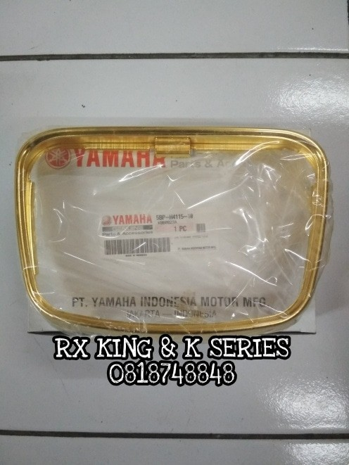 harga Rim headlight/ rim lampu rx king 2003 se gold edition 5bp-h4115-10 ori Tokopedia.com
