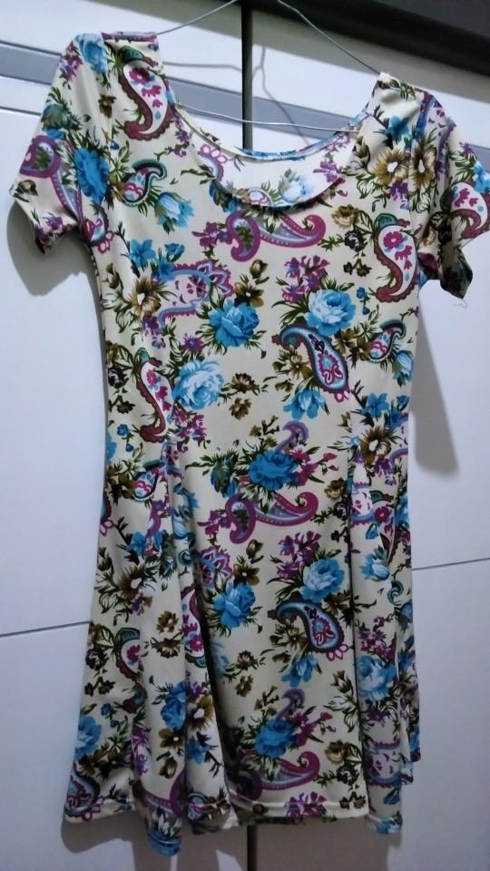 atasan / dress / batik / mini dress