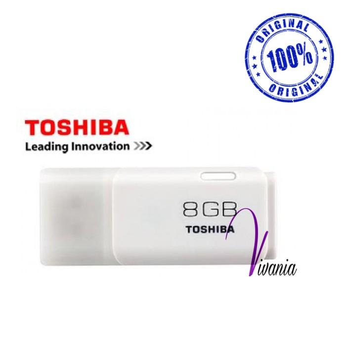 Toshiba USB Flasdisk / FD Hayabusa 8GB Putih Original