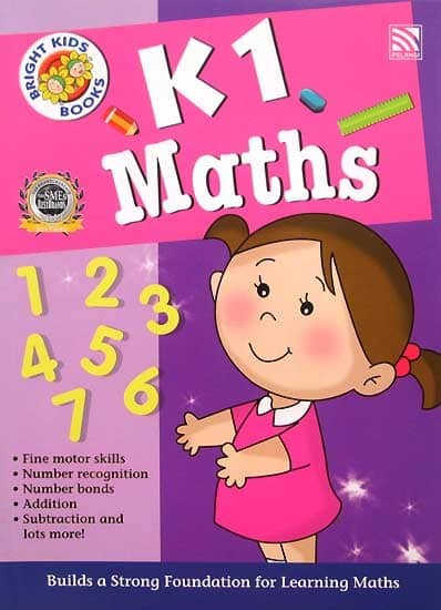 harga K1 Maths Workbook Bright Kids Books (kindergarten 1) Tokopedia.com