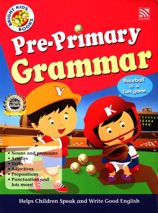 harga Pre-primary English Grammar Workbook - Bright Kids Books Tokopedia.com