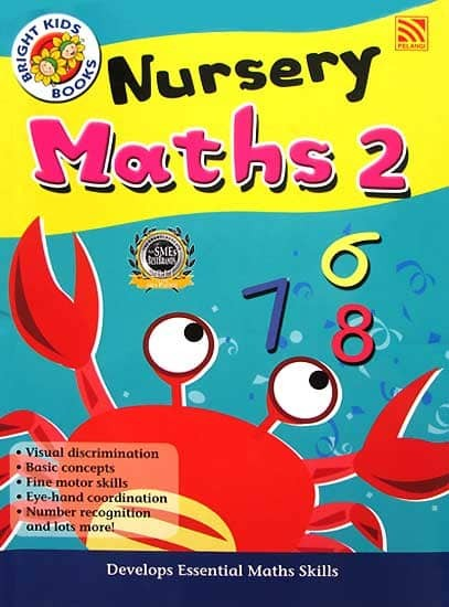 harga Nursery Maths 2 Workbook Bright Kids Books (preschool) Tokopedia.com