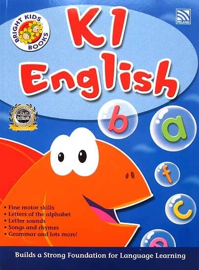 harga K1 English Workbook Bright Kids Books (kindergarten 1) Tokopedia.com