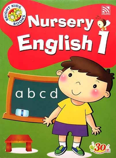 harga Nursery English 1 Workbook Bright Kids Books (preschool) Tokopedia.com