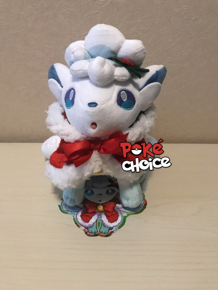 harga Pokemon center japan alolan vulpix christmas 2017 plush Tokopedia.com