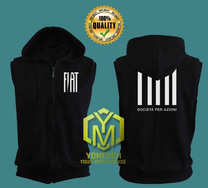harga Vest fiat jaket  hoodie zipper sweater keren Tokopedia.com