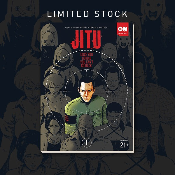 Foto Produk Jitu Volume 1 Komik Reon dari re:ON Comics