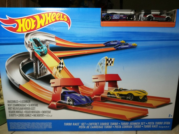 3a23adb8a76 Jual Hot wheels turbo race set track set - EmZ-Store