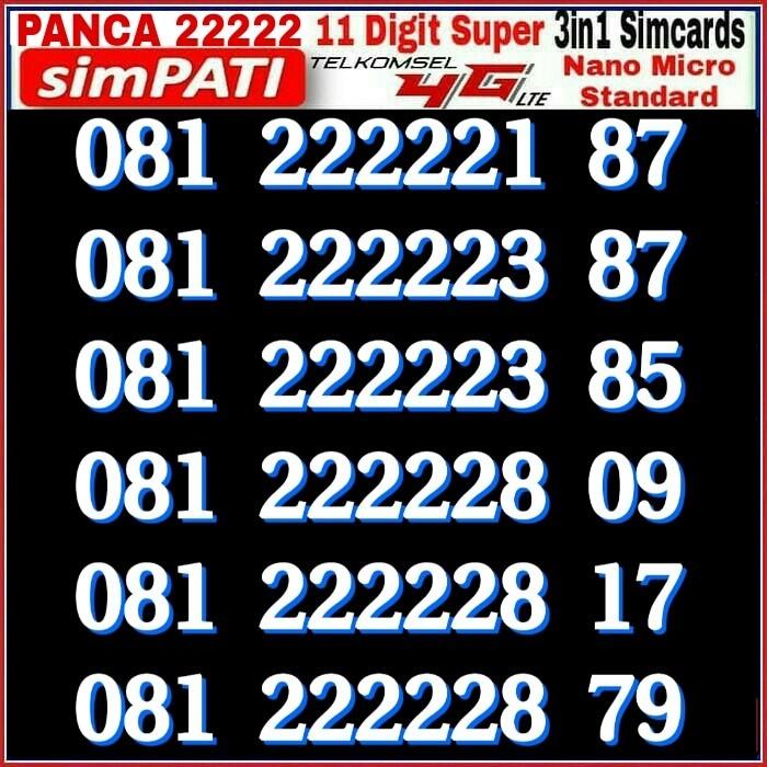 Cari Harga Telkomsel Simpati 11 Digit 0812 79999 41 Kartu Perdana Source · Kartu Perdana Nomor