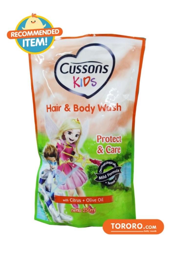 harga Cussons kids hair & body wash protect & care 250ml Tokopedia.com