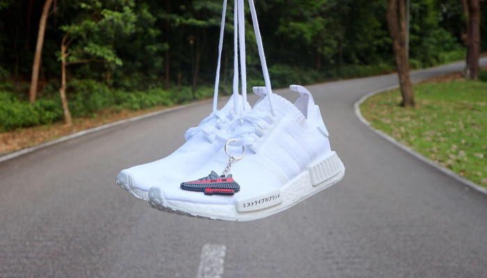 1a043faca Jual adidas nmd R1 PK japan triple white - yuesneakers