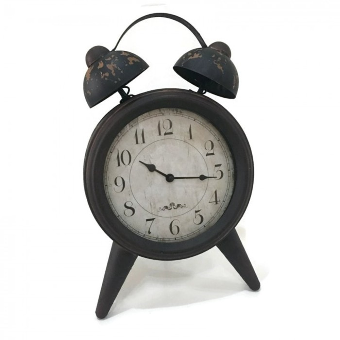 Jam Meja-Vintage Retro Europian Antique Alarm Clock Shape- Big Size-10 8cfa0b5556