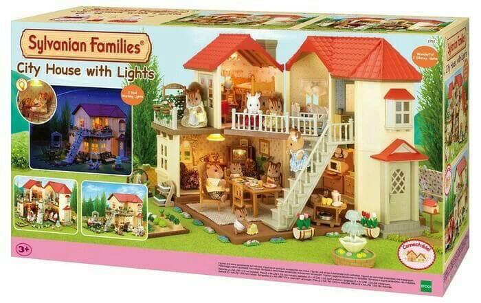 harga Sylvanian families - city house with light Tokopedia.com