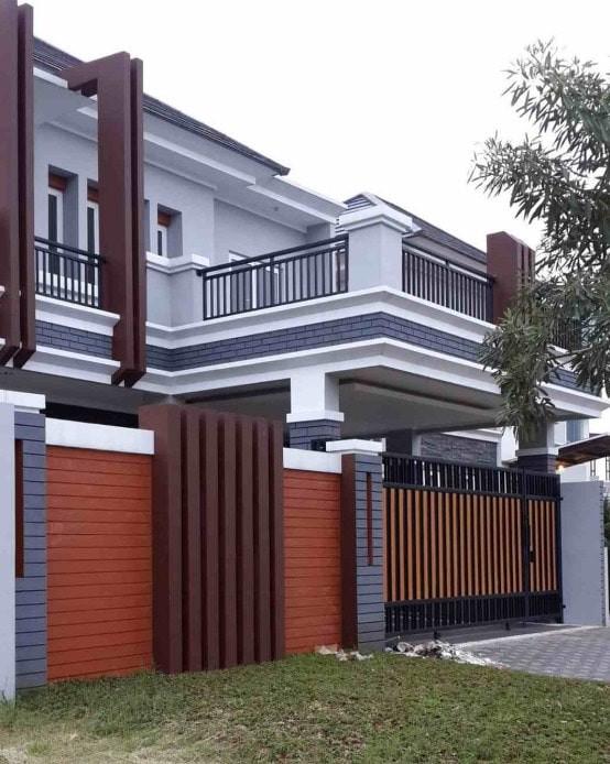 Jual Pintu Pagar Minimalis Kombinasi Woodplank - Kab. Bogor - Bengkel Las  Ljl | Tokopedia