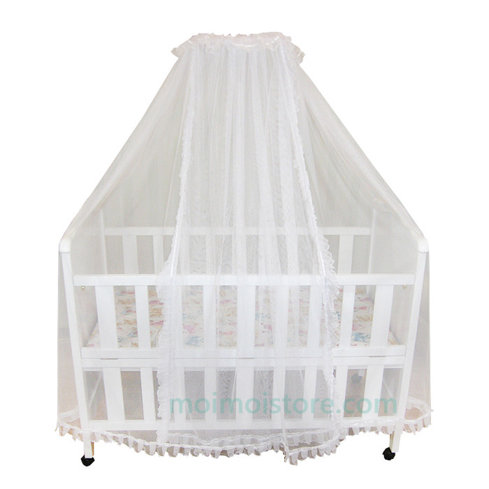 Kelambu baby box 1 tiang / kelambu box kayu / kelambu bayi ,urah