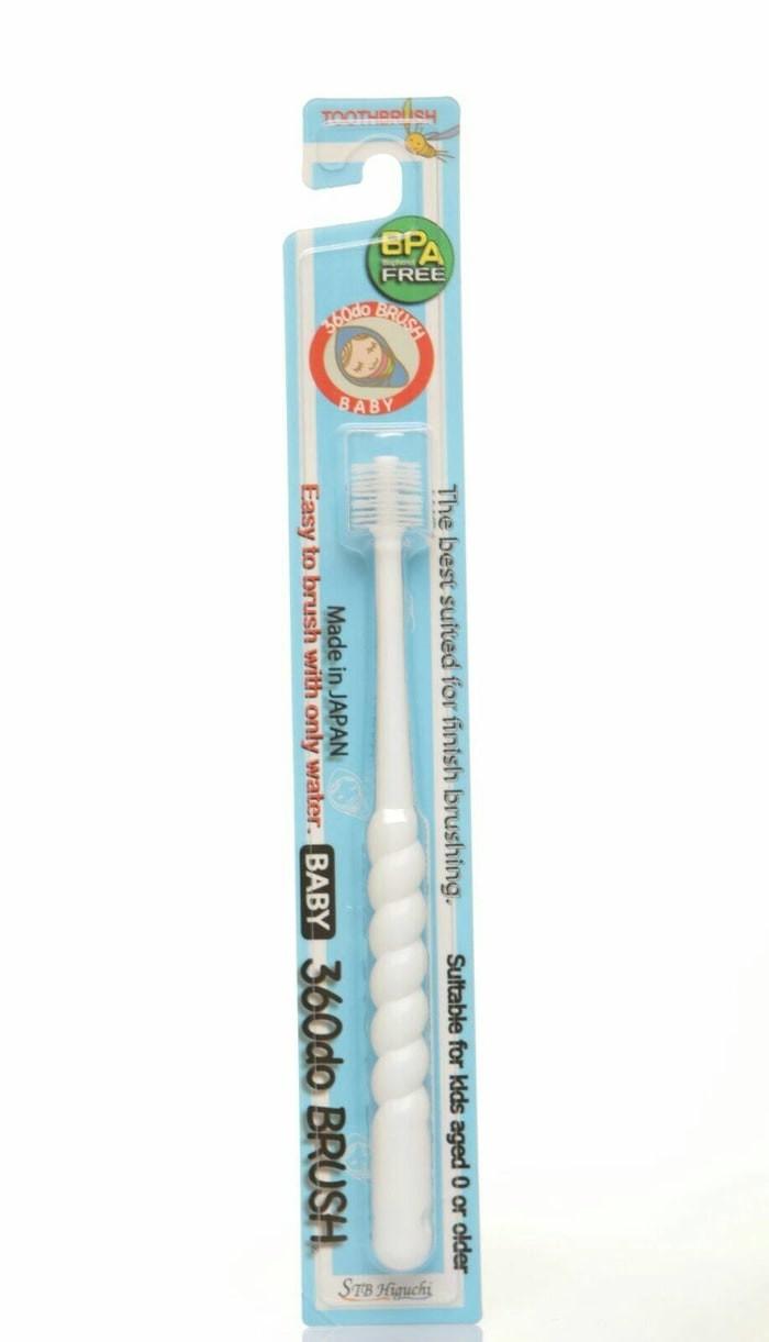 360 Do Brush For Baby PUTIH Sikat Gigi Bayi Japan 360 derajat ...