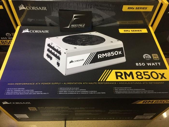 harga Psu corsair rmx white series rm850x (cp-9020156-eu) 850 watt 80+ gold Tokopedia.com