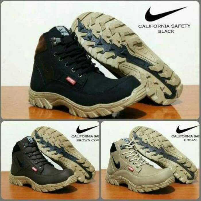 the best attitude 6dd30 3b706 sepatu boots pria nike tracking california safety original handmade