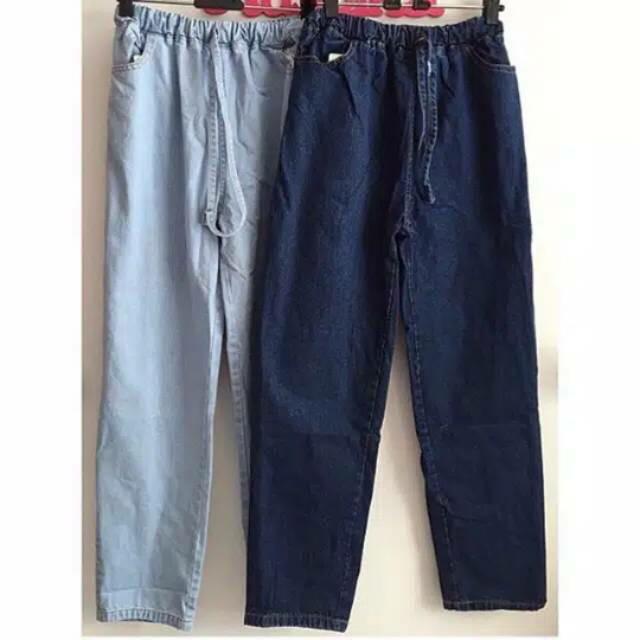 Jual Celana Boyfriend Baggy Jeans Longgar Murah Dan Berkualitas