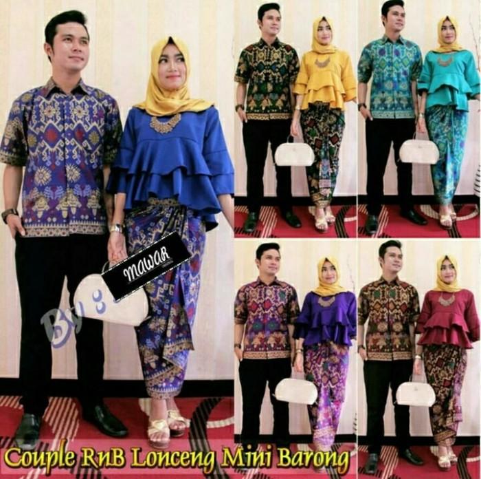 batik couple lonceng mini barong