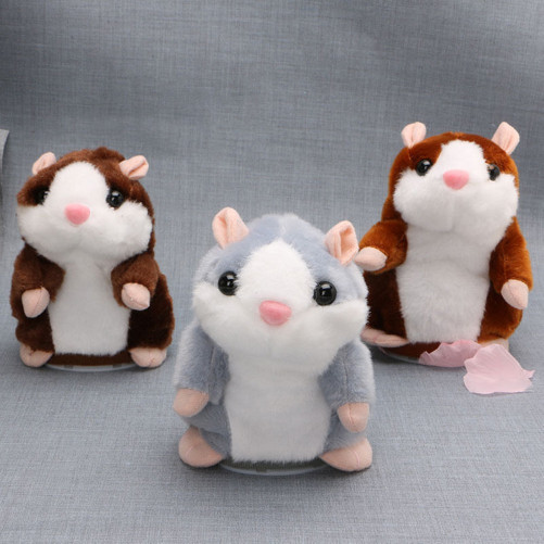 Talking Hamster Boneka Hamster Bisa Bicara Mainan Anak . 399541e642