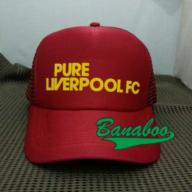 Seven Custom Topi Trucker Jaring Logo Real Madrid - Christmas Design ... 3b4c7c1203