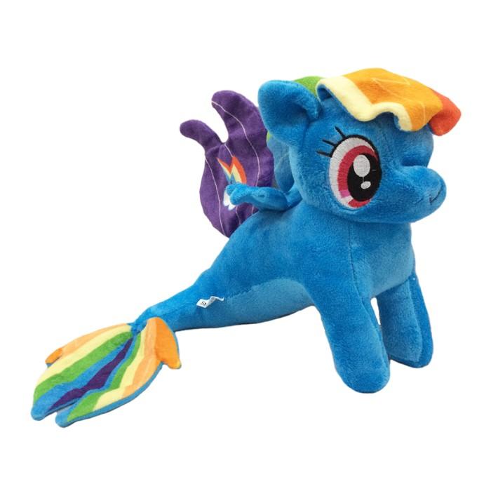 harga Boneka karakter pony duyung (mermaid seapony rainbow dash) 14 inch Tokopedia.com