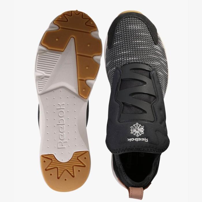 Jual ORIGINAL Reebok Furylite Slip EMB EBK Men Sepatu Grey BS6244 ... ac2ef8e4e9