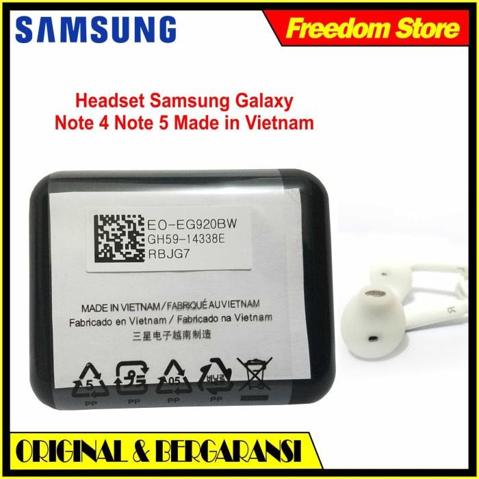 harga Samsung original headset samsung galaxy note 4 / 5 s4  super bass Tokopedia.com