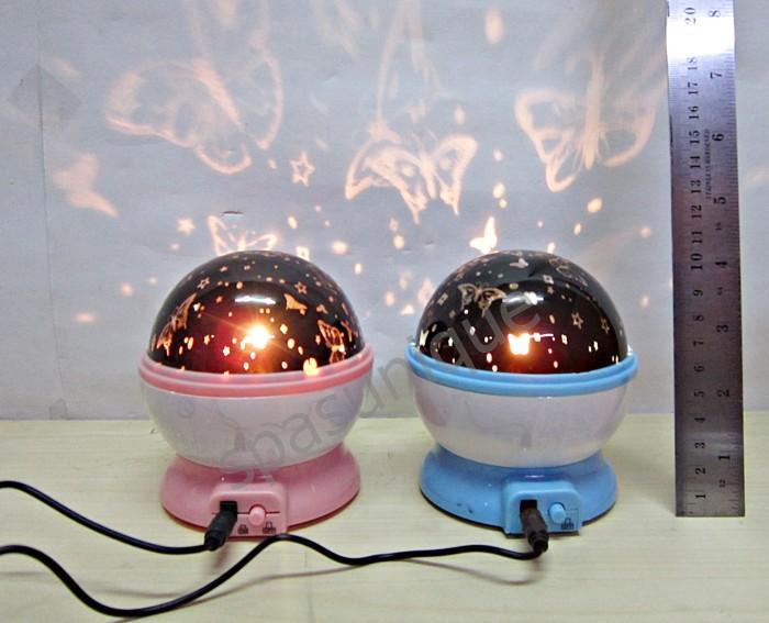 harga Lampu tidur proyektor cahaya kupu-kupu star moon 2 Tokopedia.com