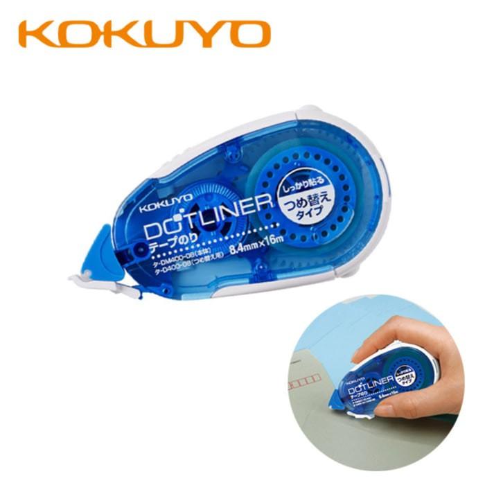 harga Kokuyo dot liner glue tape small dots 8.4 x 16mm blue (t-dm - hi store Tokopedia.com