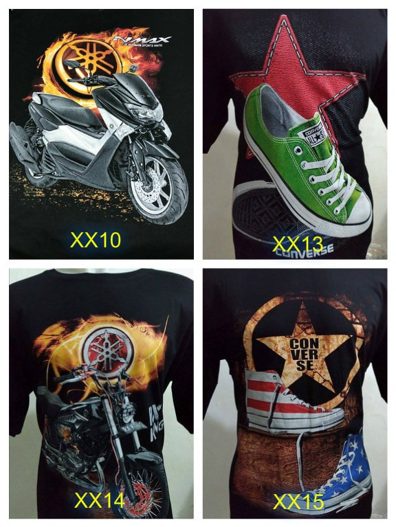 harga Kaos Jumbo Big Size Xxl Motor Sepeda Jeep Kamera Dll Tokopedia.com